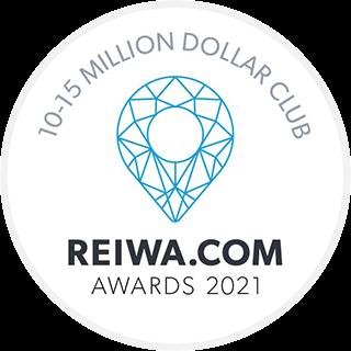 REIWA award - 10-15 million dollar club 2021
