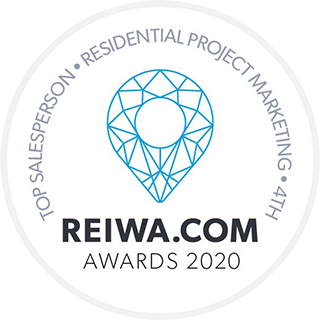 REIWA award - top sales person 2020
